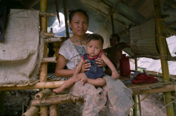 Karen refugees at Noh Boh