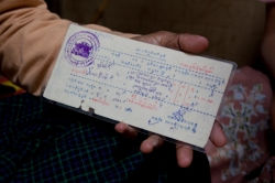 Release card from Insein prison